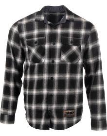 509 Basecamp Flannel Shirt Black/Gray Checker