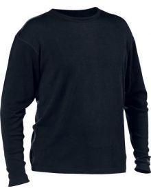 Minus 33 Lightweight Crew Base Layer Shirt Black