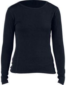Minus 33 Lightweight Crew Womens Base Layer Shirt Black