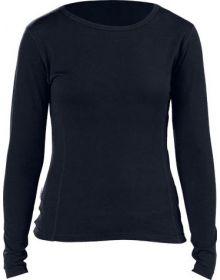 Minus 33 Midweight Crew Womens Base Layer Shirt Black
