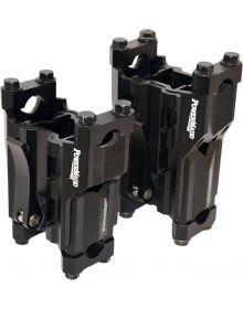 Powermadd Handlebar Adjustable Pivot Riser 4in-6in Black