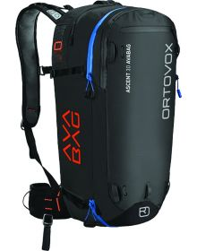 Ortovox Ascent 30 Avalanche Airbag Backpack Black/Anthracite