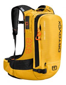 Ortovox Free Rider 22 Avalanche Airbag Backpack Yellow Stone