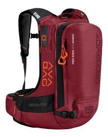 Ortovox Free Rider 20 Avalanche Airbag Backpack Dark Blood