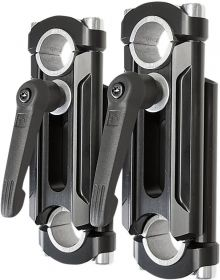Rox Elite Adjustable Handlebar Riser 4in-6in Black