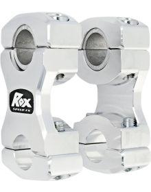 Rox T-Style Stem Pivoting Handlebar Riser 2.5in Aluminum