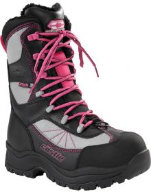 Castle X Force 2 Womens Snowmobile Boots Gray