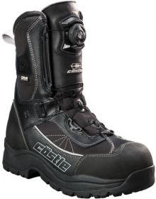 Castle X Charge BOA Snowmobile Boots Gray/Black