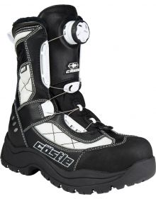 Castle X Charge ATOP Womens Snowmobile Boots White/Black