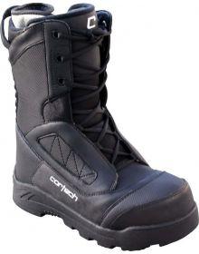 Cortech Cascade Snowmobile Boots Black