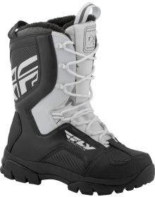 Fly Racing Marker Snowmobile Boot White