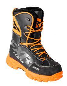FXR 2018 X-Cross Boots Black/Orange