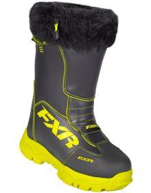 FXR 2018 Excursion Womens Boots Black/Hi-Vis