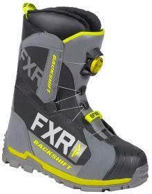 FXR Backshift BOA Boots Black/Char/Hi Vis