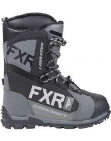 FXR Backshift Speed Boots Black/Char