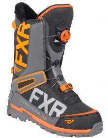 FXR Helium Lite BOA Boots Black/Char/Orange