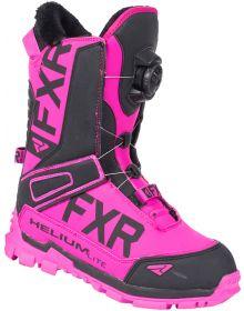 FXR Helium Lite BOA Boots Fuchsia/Black