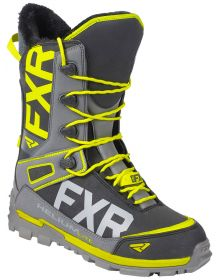 FXR Helium Lite Speed Boots Black/Char/Hi Vis