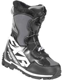 FXR X-Cross Pro BOA Boots Black/White/Char