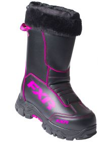 FXR Excursion Womens Boots Black/Fuchsia