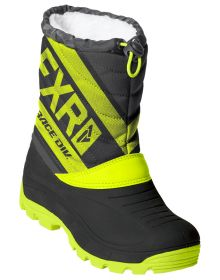 FXR Octane Youth Boots Back/Hi Vis/Char