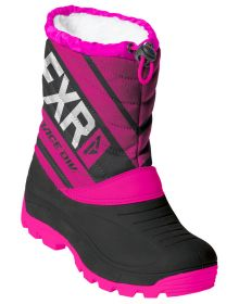 FXR Octane Youth Boots Black/Fuchsia