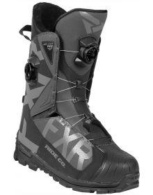 FXR Helium Pro Boa Boot Black/Charcoal/Light Grey