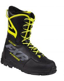 FXR X-Cross Pro Speed Boot Black/Hi Vis