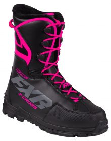 FXR X-Cross Pro Speed Womens Boot Black/Fuchsia