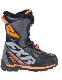 FXR X-Cross Pro BOA Boots Black/Orange