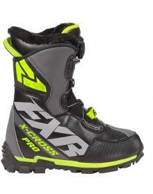FXR X-Cross Pro BOA Boots Black/Hi-Vis