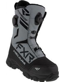 FXR 2021 Helium Dual BOA Boot Black/Steel
