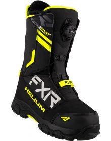 FXR 2021 Helium Single BOA Boot Black/Hi-Vis