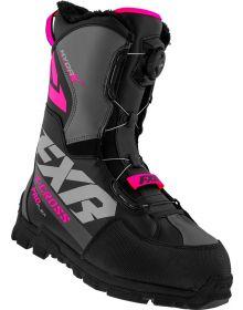 FXR 2021 X-Cross Pro Flex BOA Boots Black/Fuchsia