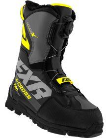 FXR 2021 X-Cross Pro Flex BOA Boots Black/Hi-Vis