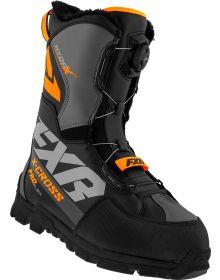 FXR 2021 X-Cross Pro Flex BOA Boots Black/Orange