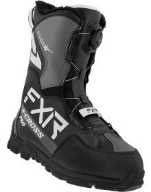 FXR 2022 X-Cross Pro BOA Snowmobile Boots Black/White