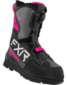 FXR 2022 X-Cross Pro BOA Snowmobile Boots Black/Fuchsia