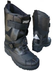 Rocket SnowGear Snowmobile Boot Black