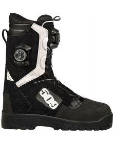 509 Raid Snowmobile Boa Boot Black/White