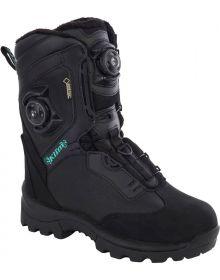 Klim Aurora BOA Gore-Tex Thinsulate Womens Snowmobile Boots Black