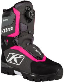 Klim Aurora GTX BOA Womens Boot Knockout Pink