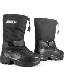 CKX Boreal Snowmobile Boots Black
