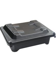 Skinz Black Bok Dry Storage Box Black - Large 14x11x4