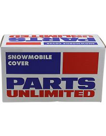 Parts Unlimited Trailerable Universal Snowmobile Cover Black Large