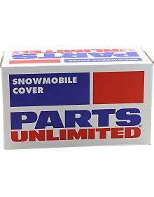Parts Unlimited Trailerable Universal Snowmobile Cover Black X-Large