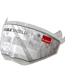 LS2 Helmets Pioneer Snow Shield Dual Pane Clear