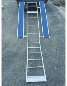 RevArc Snowmobile Folding Ramp 1500lbs Aluminum