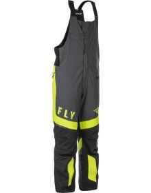 Fly Racing 2021 Outpost Snowmobile Bib Black/Grey/HI-Vis