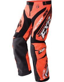 FXR Cold Cross Race Ready Pants Orange/Black/White